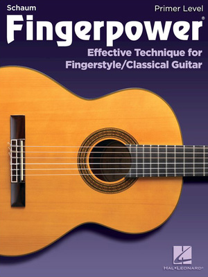 Hal Leonard Fingerpower Classical Guitar