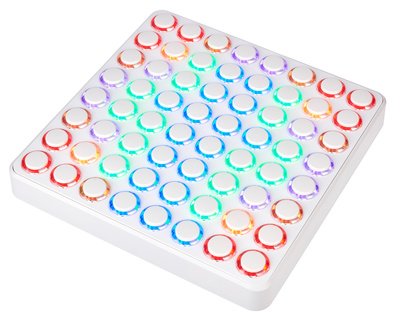 DJ Techtools Midi Fighter 64 white