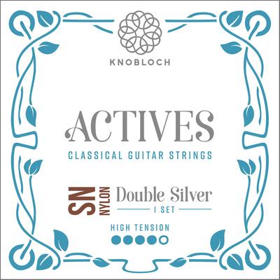 Knobloch Strings Double Silver Special Nylon400