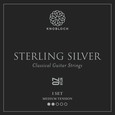 Knobloch Strings Pure Sterling Silver Nylon 500