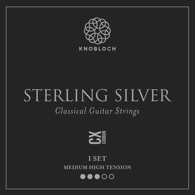 Knobloch Strings Pure Sterling Silver Carbon650