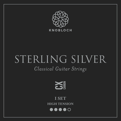 Knobloch Strings Pure Sterling Silver Carbon500