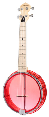 Gold Tone Little GEM Banjo Uke Ruby Red
