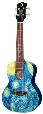 Luna Guitars Uke Starry Night Conce B-Stock
