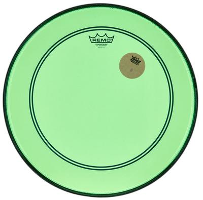 """Remo 18"""" P3 Colortone Batter Green"""