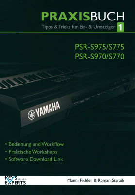 Keys Experts Verlag PSR-S 975/775 Praxis Buch 1