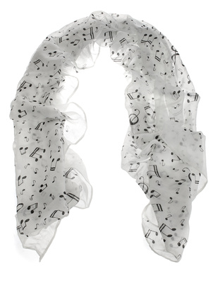 Musikboutique Hahn Scarf Sheet Music White