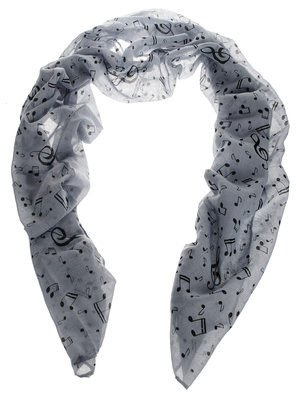 Musikboutique Hahn Scarf Sheet Music Light Grey