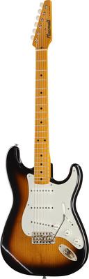 Macmull Guitars S-Classic 2 Tone Sunburst MN