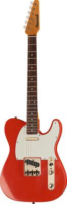 Macmull Guitars T-Classic Fiesta Red RW