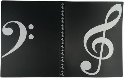 A-Gift-Republic Portfolio Violin Clef B-Stock