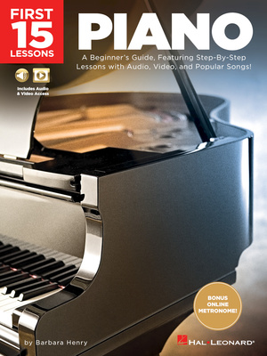 Hal Leonard First 15 Lessons - Piano