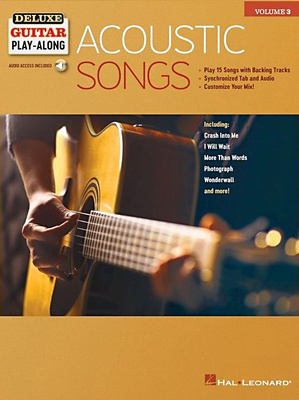 Hal Leonard Deluxe Guitar Acoustic Songs