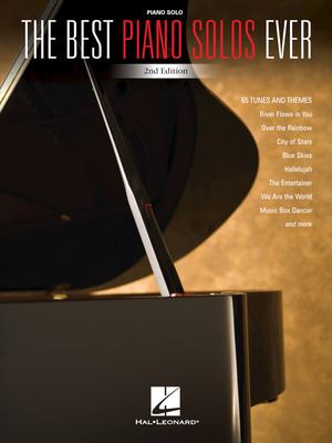 Hal Leonard The Best Piano Solos Ever