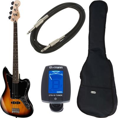 Fender SQ VM Jaguar Bass SP 3C Bundle