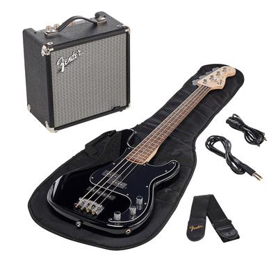 Fender SQ Affinity PJ Bass Pack BLK