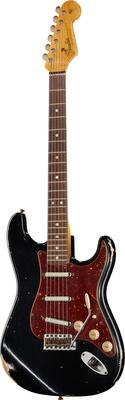 Fender 64 Strat Relic Lipstick BK
