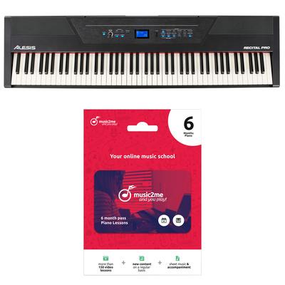 Alesis Recital Pro Music2me Bundle