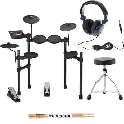 Yamaha DTX402K E-Drum Set Bundle