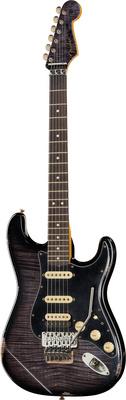 Fender 63 Strat FMT Black Floyd Relic
