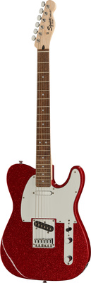 Fender SQ Bullet Tele LRL Red SPKL