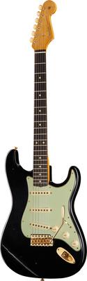 Fender 61 Strat BLK Relic GH