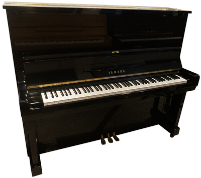 Yamaha U3C Piano used, Black Polished