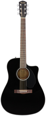 Fender CD-60SCE Blk WN