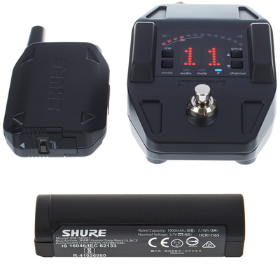 Shure GLXD16 Battery Bundle