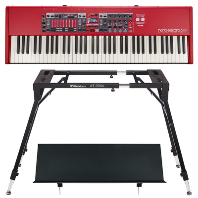 Clavia Nord Electro 6 HP Stand Bundle
