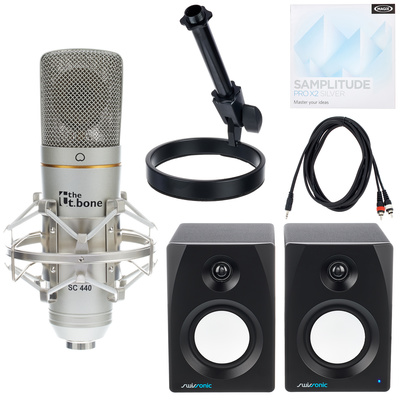 the t.bone SC 440 USB Recording Bundle