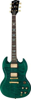 Gibson SG Elegant Figured Aqua GH