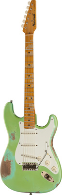 Macmull Guitars S-Classic Mad Green MN