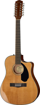 Fender CD-60SCE-12 Nat WN