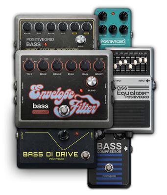 Positive Grid BIAS FX Bass Exp Pack