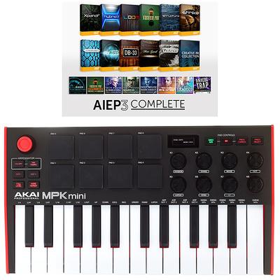 Akai MPK mini Mk2 - AIEP3 Bundle