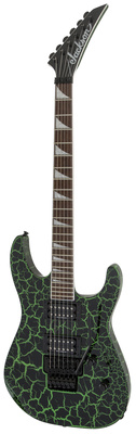 Jackson X Series SLX Green Crackle