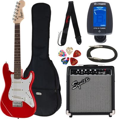 Fender Squier Mini Strat V2 TR Set