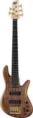 Fodera Emperor Std 5 Flamed Walnut