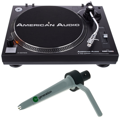 American Audio TTD 2400 Concorde Bundle