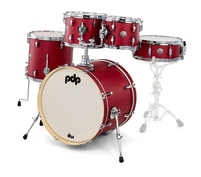 DW PDP Spectrum Studio Kit Red