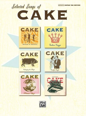 Alfred Music Publishing Selected Songs of Cake