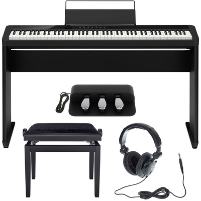 73531285ae9 Casio PX-S1000 BK Deluxe Bundle – Thomann UK