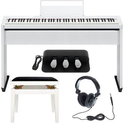 Casio PX-S1000 WE Deluxe Bundle