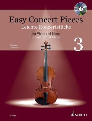 Schott Easy Concert Pieces Violin 3