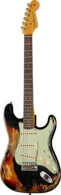 Fender 63 Strat Super Hvy Relic BKoSB