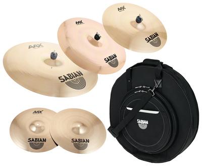 Sabian AAX Studio Cymbal Set