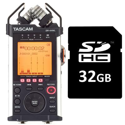 Tascam DR-44WL Card Bundle