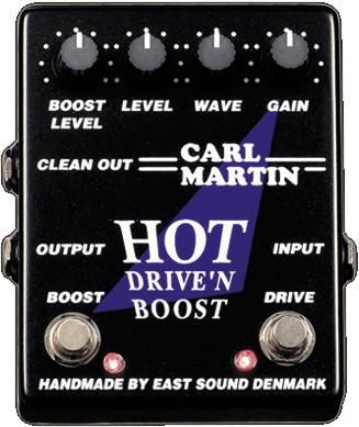 Carl Martin Hot Drive'n Boost