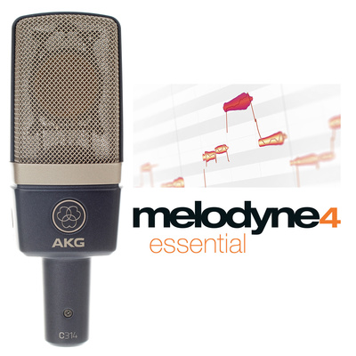 AKG C314 Melodyne essential Bundle